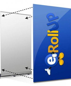 bildbyte bildbyte rollup large Bildbyte Rollup Large upp till 150 cm. Byt bild, inte kassett bildbyte tollup 150 300x360