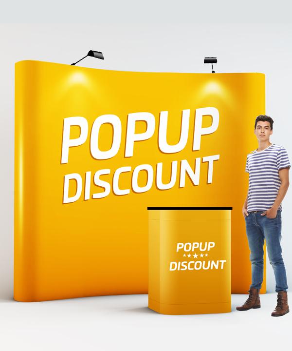 rollup Rollup och mässmaterial på 24 timmar till Sveriges lägsta priser. Popup Discount 720
